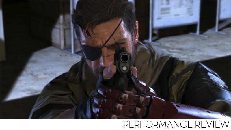 Illustration for article titled The Phantom Pain PC Benchmarks Are Relatively Painless