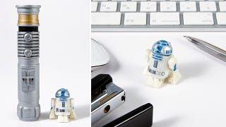 Illustration for article titled It Takes Just 10 Seconds To Recharge This Incredibly Tiny RC R2-D2