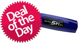 Illustration for article titled This 32GB USB 3.0 Flash Drive Is Your Safe and Sound Deal of the Day