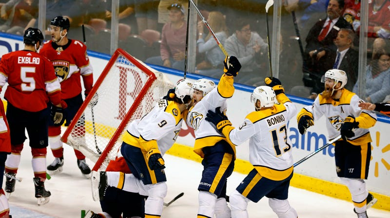 The Predators Got Hosed By Goalie Interference