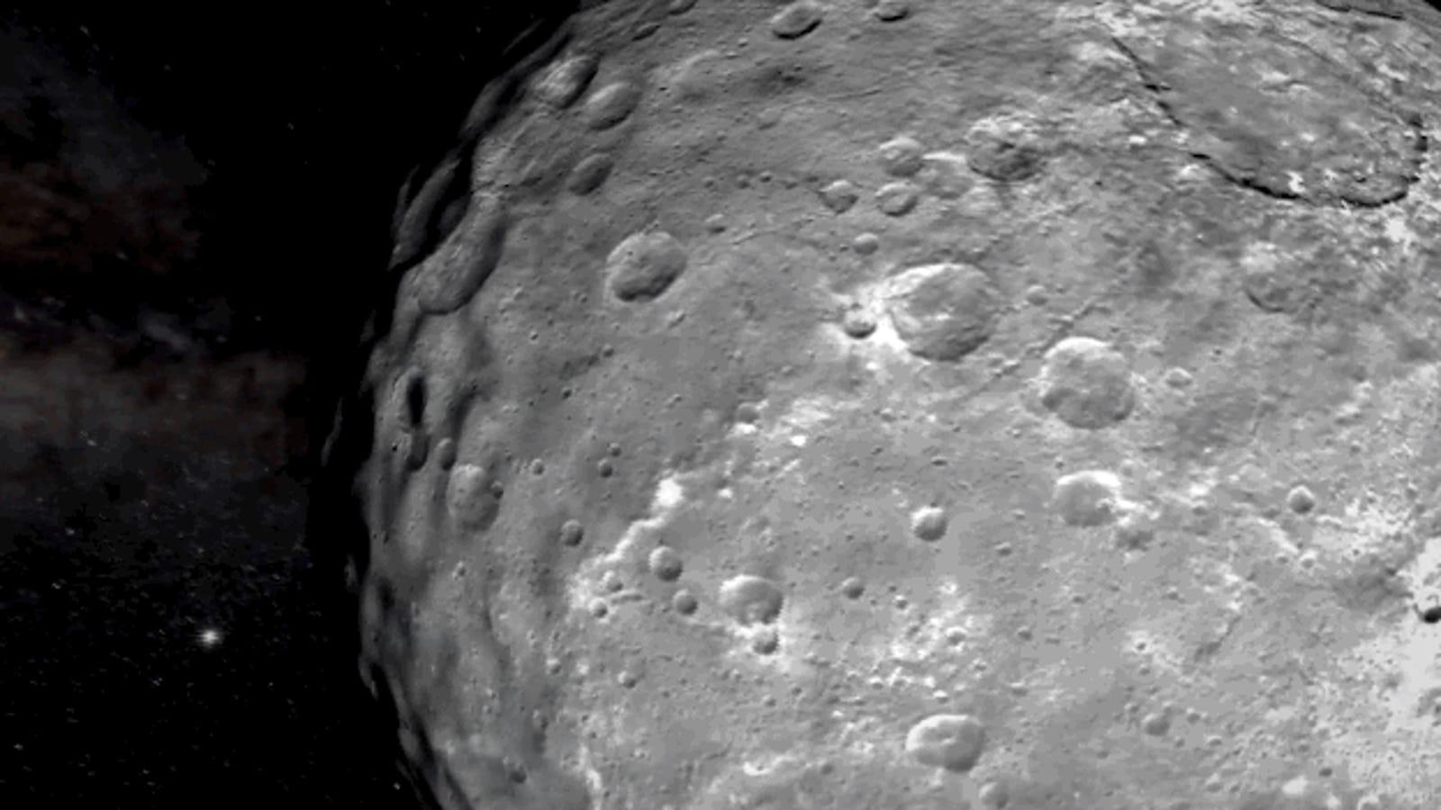 Vuela sobre Ceres en el vídeo de la NASA más nítido hecho hasta ahora