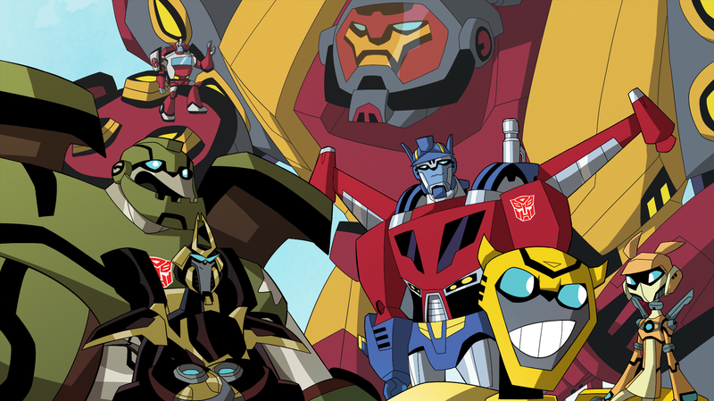 A New Transformers Series Is Coming to Netflix