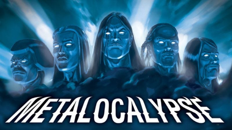 Illustration for article titled Metalocalypse
