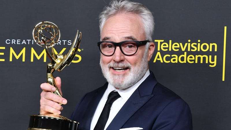 Bradley Whitford didn't win for GOT, but he sure looks happy.