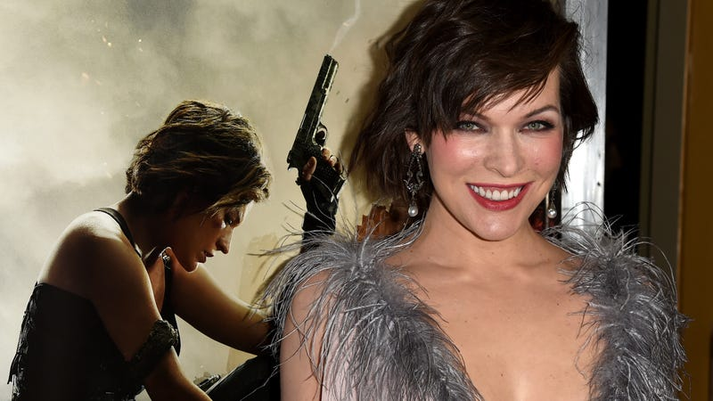 Milla Jovovich, Paul W.S. Anderson's personal monster-hunting muse.