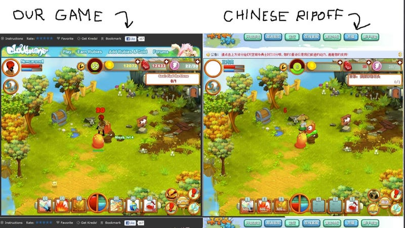 "Illustration for article titled Developer: ""Some Company in China Stole My Game"""