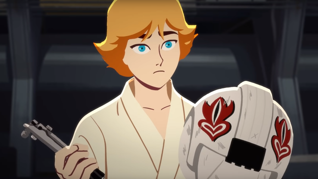 In the Latest Excellent Galaxy of Adventures Short, Luke Gets Some Good Training In