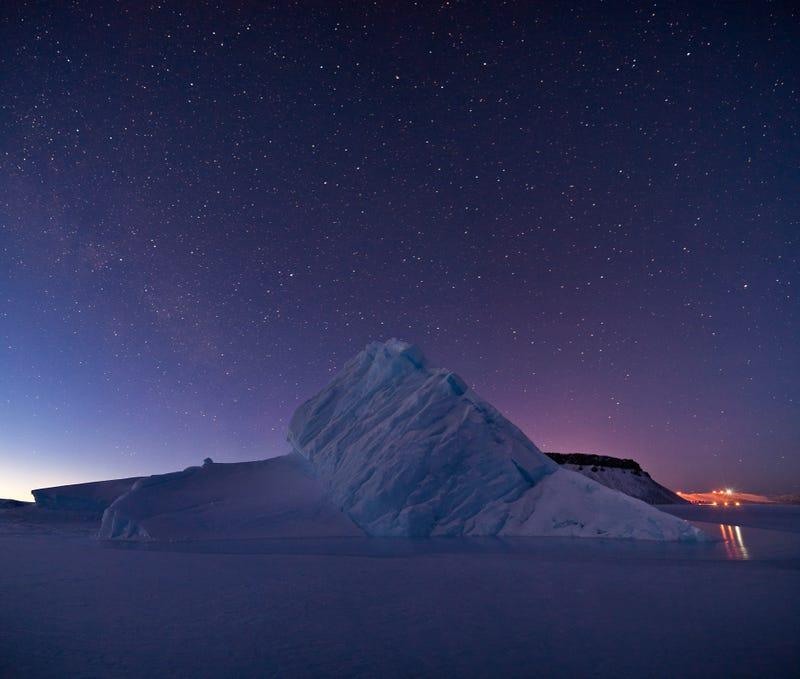 Illustration for article titled Nézzétek, milyen szép fotót készített a NASA tudósa Grönlandon!
