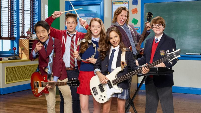 Illustration for article titled Nick's School Of Rock is innocuous enough, provided you like Jack Black imitations