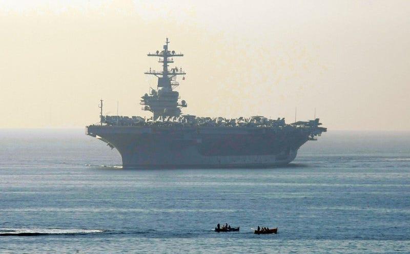 El portaaviones USS George H.W. Bush (Foto: AP Images).