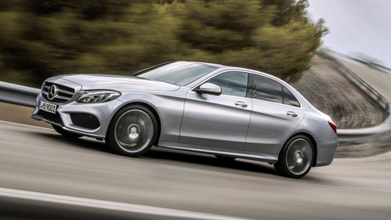 Illustration for article titled The 2015 Mercedes-Benz C-Class Cranks The Style Way Up