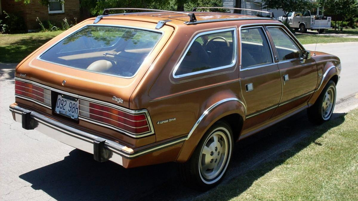 At 10000 Could This 1984 Amc Eagle Wagon Have You Flying High Wiring Diagram