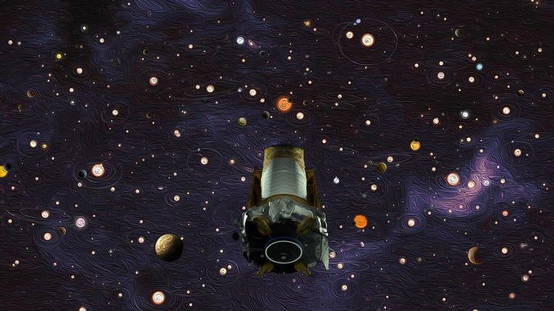 Artwork depicting Kepler