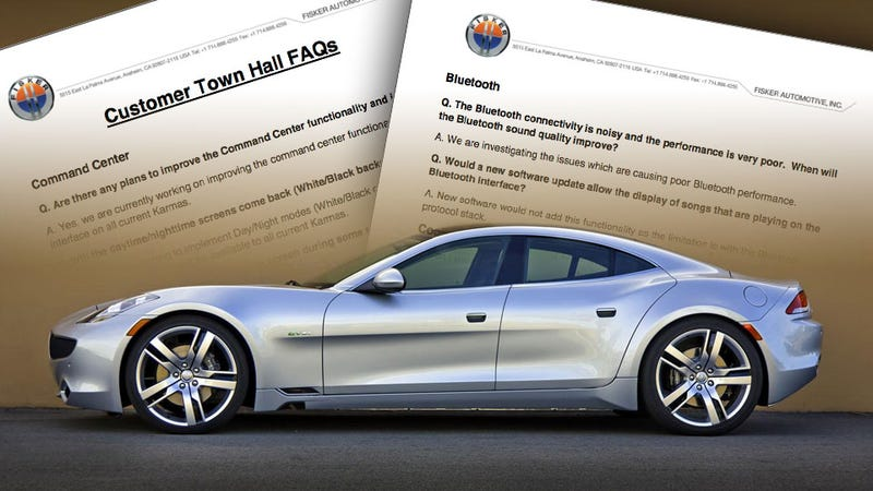 Illustration for article titled Leaked Document Shows Fisker Has More Issues Than Fiery Cars