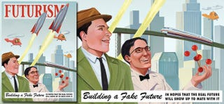 Illustration for article titled Retro-Future Poster Punches Retro-Futurism In the Face