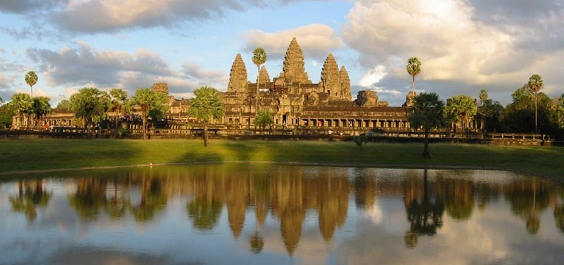 """Illustration for article titled New Findings Might Reveal the People of Angkor Wat's """"Last Stand"""""""