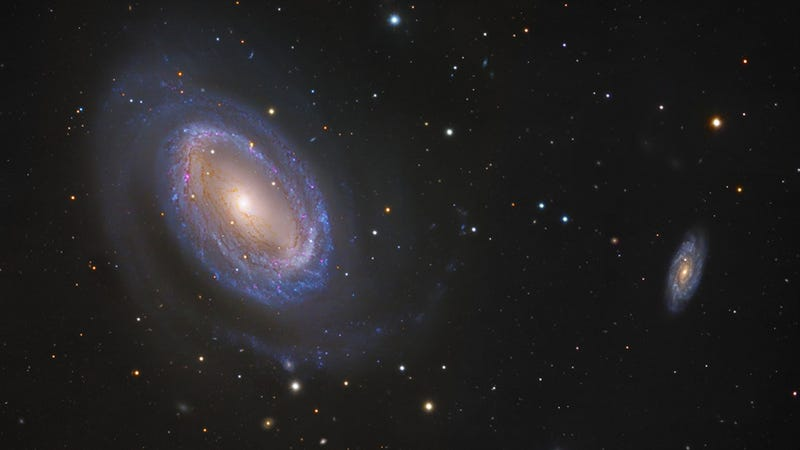 This Fabulously Oddball Galaxy Only Has One Spiral Arm
