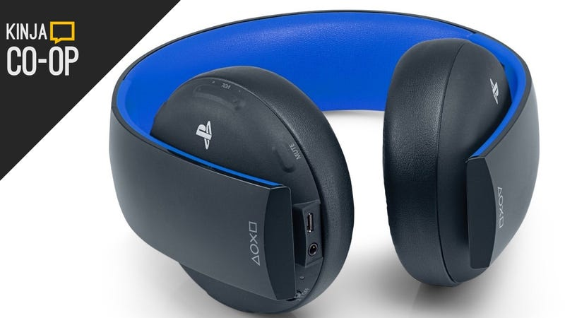 Illustration for article titled Your Favorite Gaming Headset Is the Sony Gold Wireless, Barely