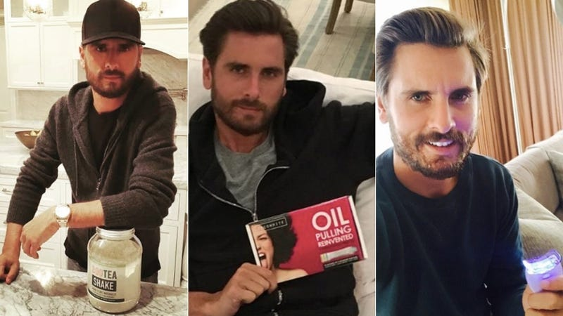 Illustration for article titled Scott Disick Accidentally Reveals the Truth Behind His Instagram Product Promotion