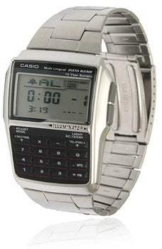 Illustration for article titled Casio Data Bank Watch, Geek Chic