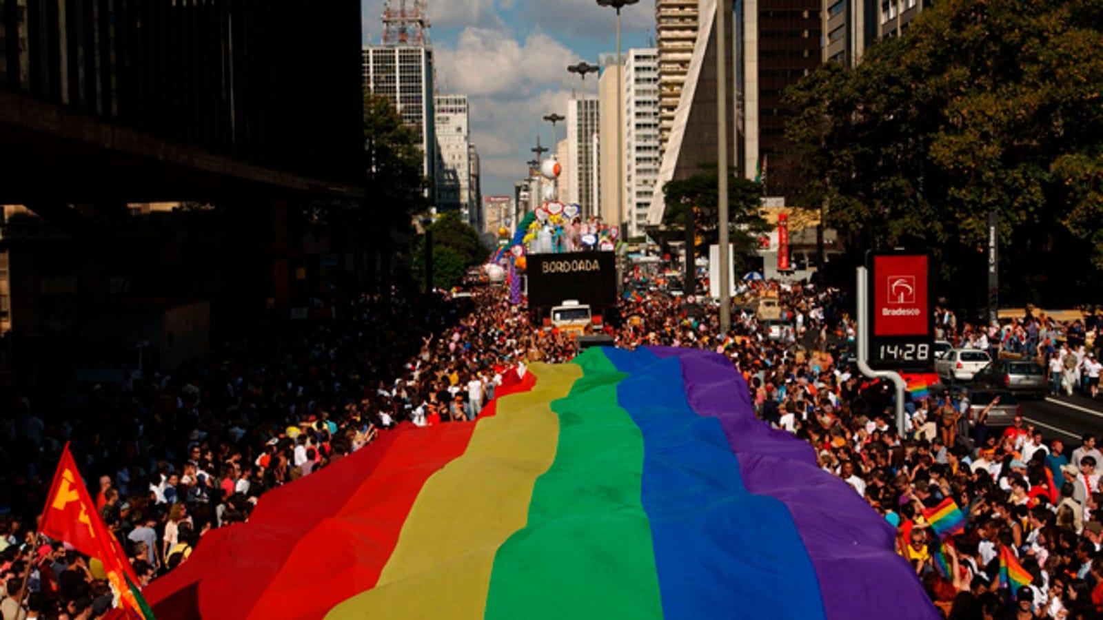 Brazil heterosexual pride day