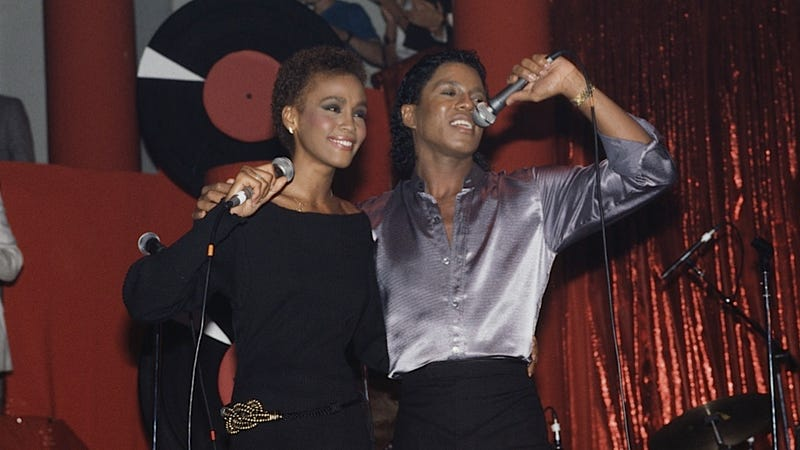 Illustration for article titled Whitney Houston Was Saving All Her Love For Jermaine Jackson
