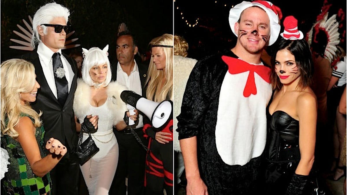 the coolest, cutest and weirdest celebrity halloween costumes of 2015