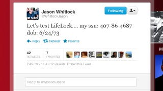 Illustration for article titled No, Jason Whitlock Did Not Just Tweet Out His Social Security Number