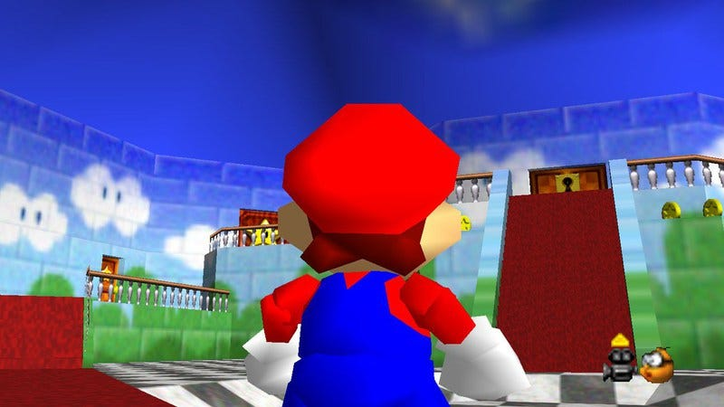 Super Mario 64 had perfectly paced difficulty