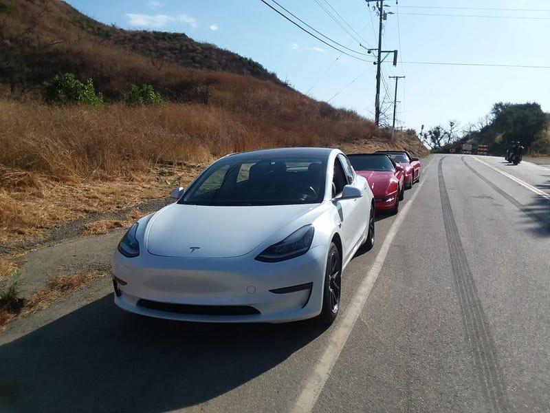 Illustration for article titled Tesla Model 3 Rental Review