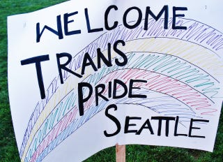 Illustration for article titled My 1st rally ever is Seattle's 1st trans* pride rally since '97!!