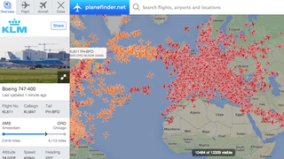 Illustration for article titled Plane Finder Tracks Your Flight in Real Time