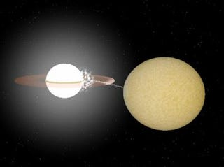 Illustration for article titled Most Extreme White Dwarf System Ever Found!