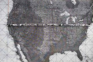 Illustration for article titled Too bad this one-million-person city from New York to San Francisco was never built
