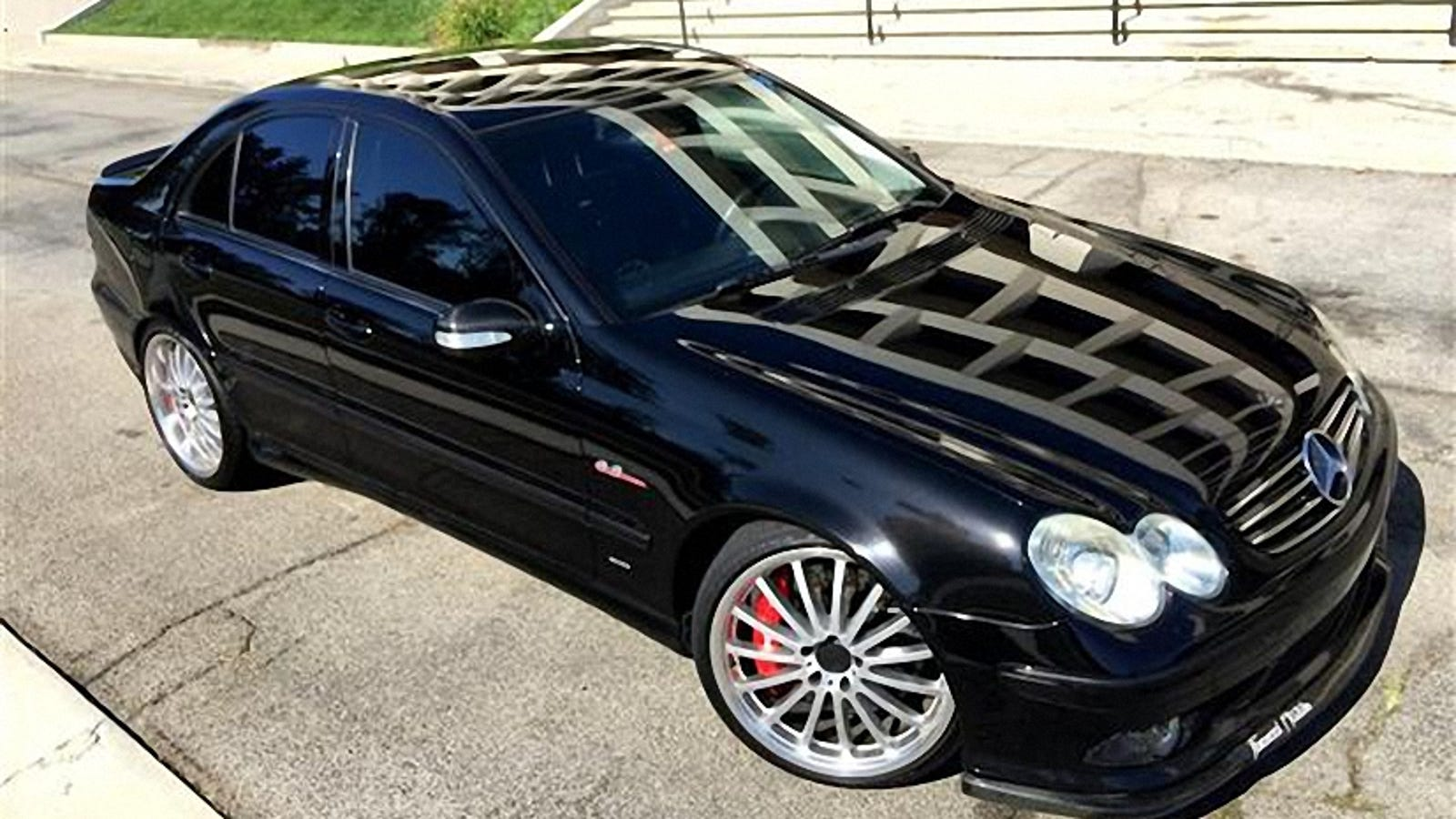 For $13,995, Would This 2005 AMG C55 Brabus Bust The Bank?