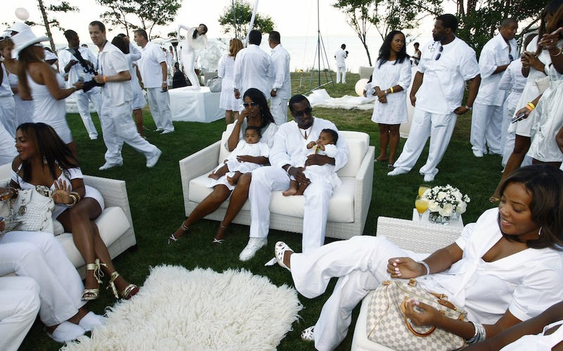 From Hip Hop to Housewives The Real Story Behind the Hamptons – P Diddy White Party Invitation