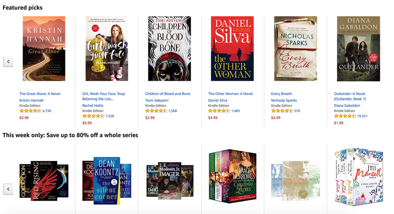 Kindle Books Gold Box | Amazon