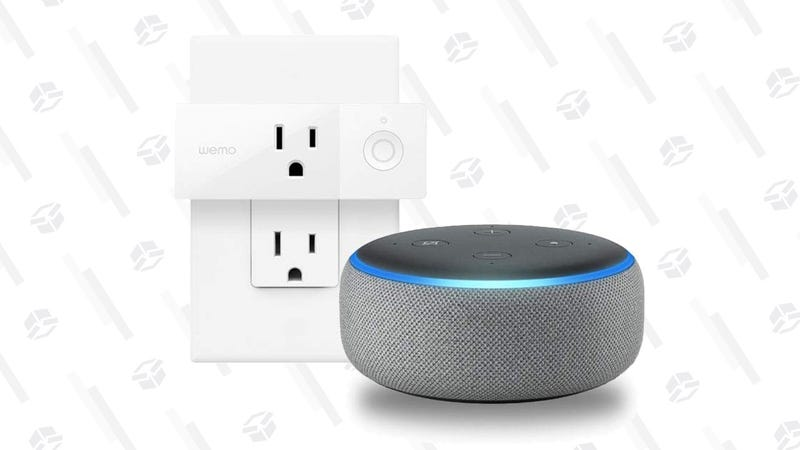 Echo Dot 3rd Gen + WeMo Mini | $29 | Amazon