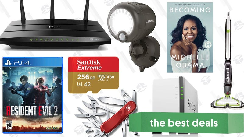 Illustration for article titled Sunday's Best Deals: World Backup Day, C.S. Lewis, Mr. Beams, Resident Evil 2, and More