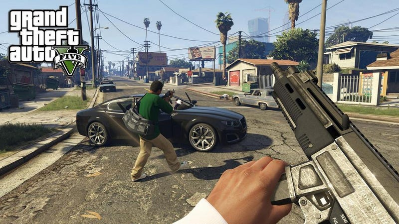 Illustration for article titled You Can Play Grand Theft Auto V In First-Person On PC/PS4/Xbox One