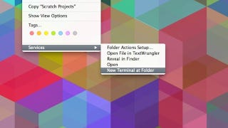 Illustration for article titled Launch an OS X Terminal Window from a Specific Folder