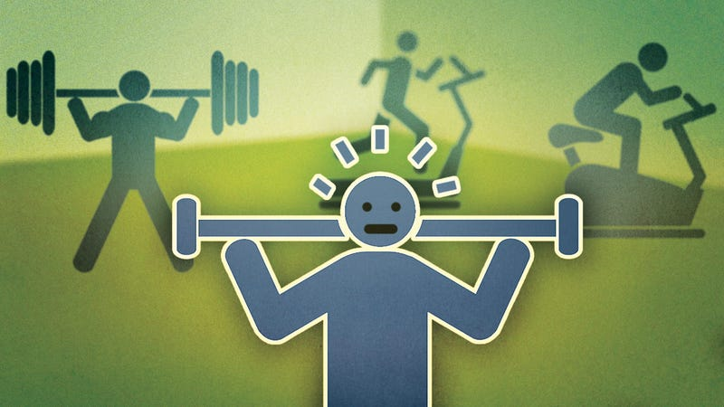 Illustration for article titled How to Become More Comfortable at the Gym When You're Starting Out