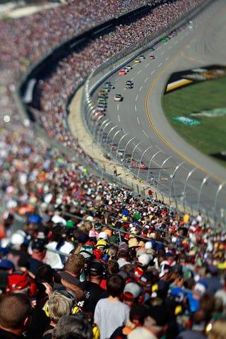 Illustration for article titled NASCAR Through Tilt-Shift Lenses