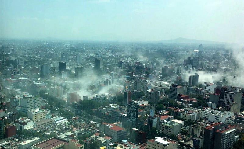 Ciudad de México, después del sismo de magnitud 7,1 del 19 de septiembre de 2017. (Foto: Francisco Caballero Gout / AP Images)