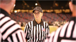 Illustration for article titled Lady Ref Breaks The Gender Barrier No One Cared About