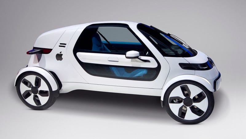 Illustration for article titled Features Of The Apple Car