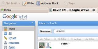 Illustration for article titled Run Google Wave Inside Thunderbird 3