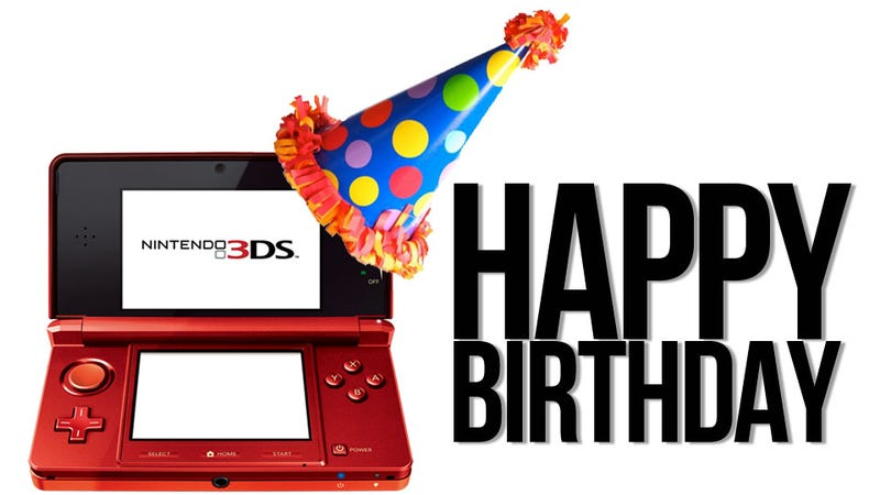 Illustration for article titled The Nintendo 3DS Is Now One Year Old. And It Doesn't Suck.