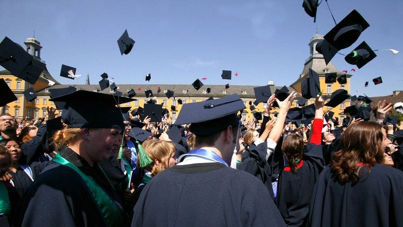 Illustration for article titled Date Rapist Tossing His Mortarboard Into Air 3 Rows In Front Of You