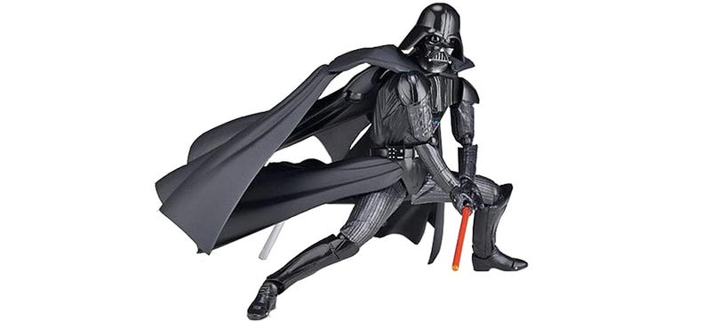 Illustration for article titled Even Vader's Cape Is Posable On This Incredibly-Articulated Figure